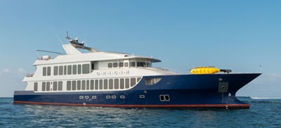 Luxury Galapagos cruise aboard the MV Origin
