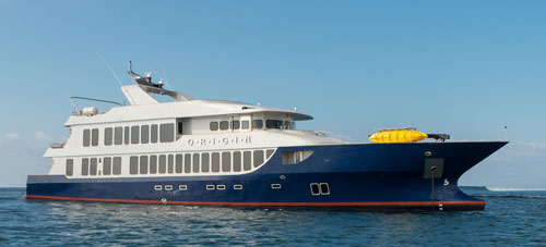 Luxury Galapagos cruise and tour aboard the Origin